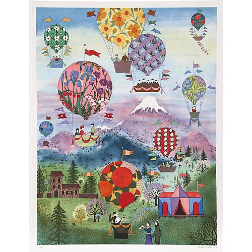 Floral Balloons by Jack Hofflander