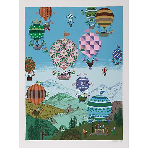 Summer Balloons by Jack Hofflander