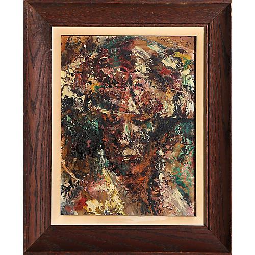 Portrait of a Woman by John Uht