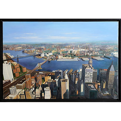 View of New York City by Rothschild