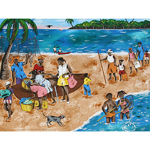 In the Caribbean by Isiah Nicholas