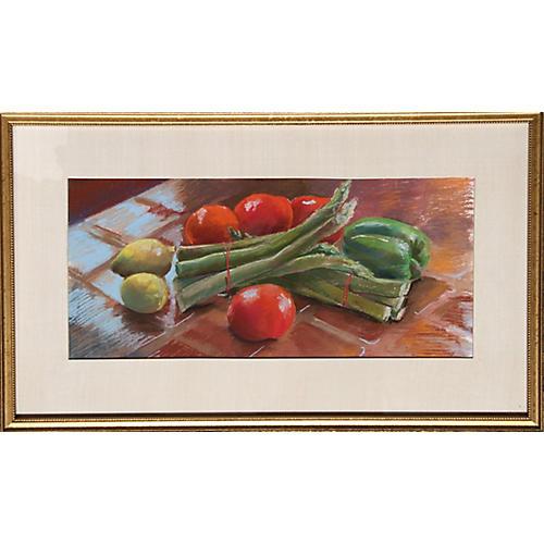 Vegetable Still Life by Gerstein