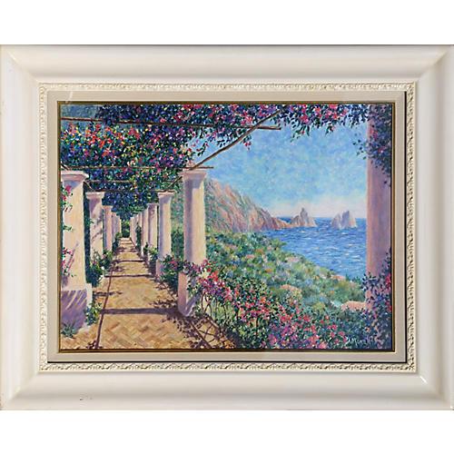 Vista Firaglioni by Diane Monet