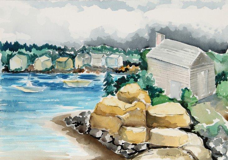 Rocky Cove by Harold Wallerstein