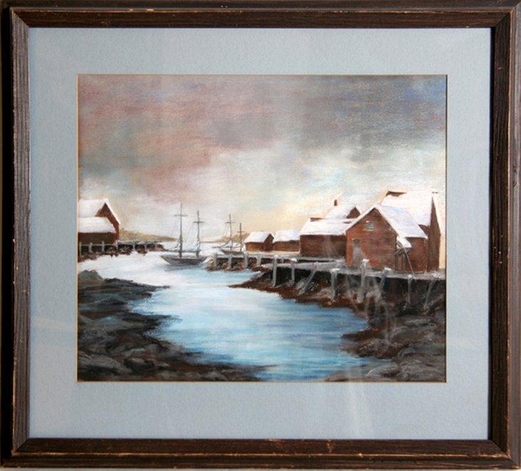 Winter Harbor by Barbara Ross