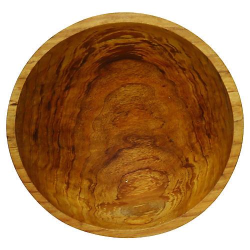 American Hand-Turned Wood Bowl