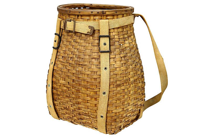Maine Indigenous Gathering Basket