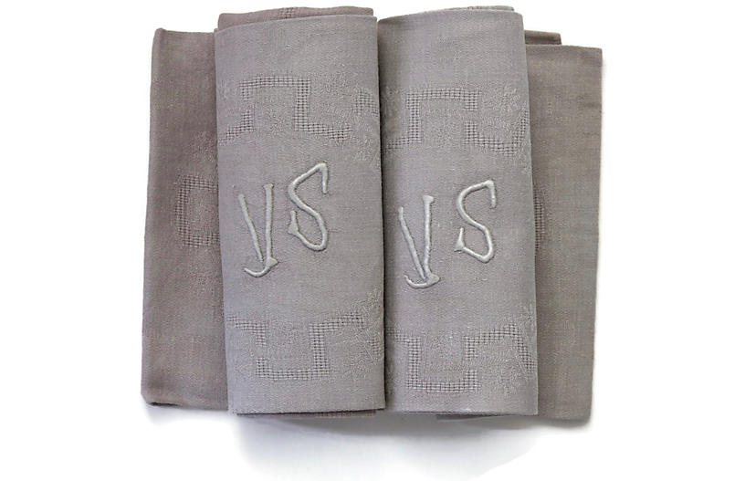 1920s French Linen