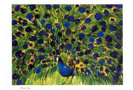 Peacock, Walasse Ting