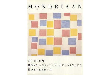 Color Planes by Piet Mondrian