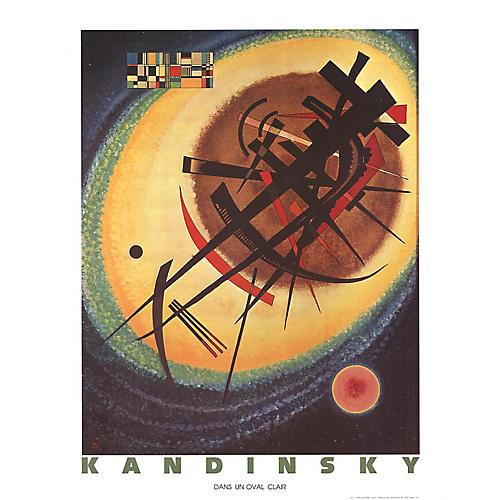 Bright Oval by Wassily Kandinsky
