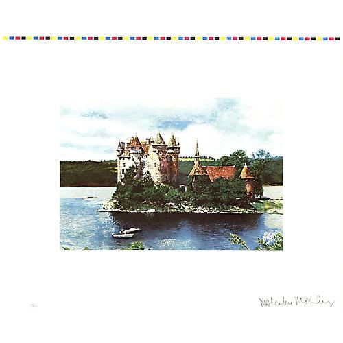Rhine Chateau by Malcolm Morley, 1972