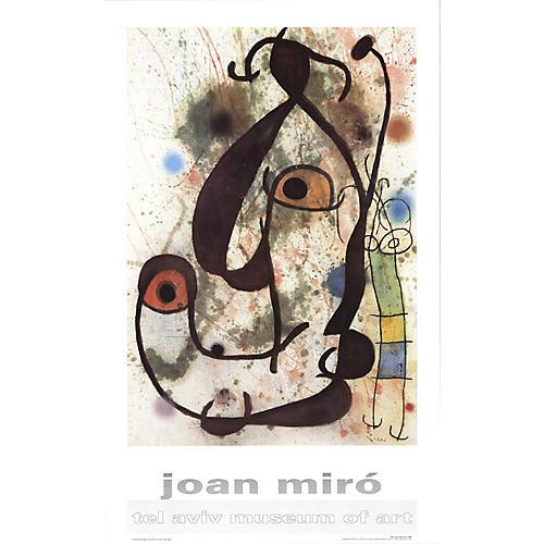 Man & Woman by Joan Miró