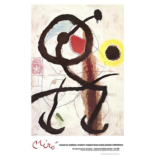 The Bird by Joan Miró