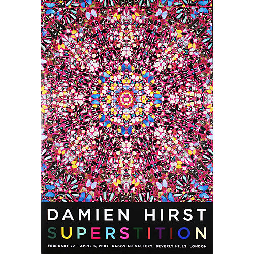 Superstition by Damien Hirst