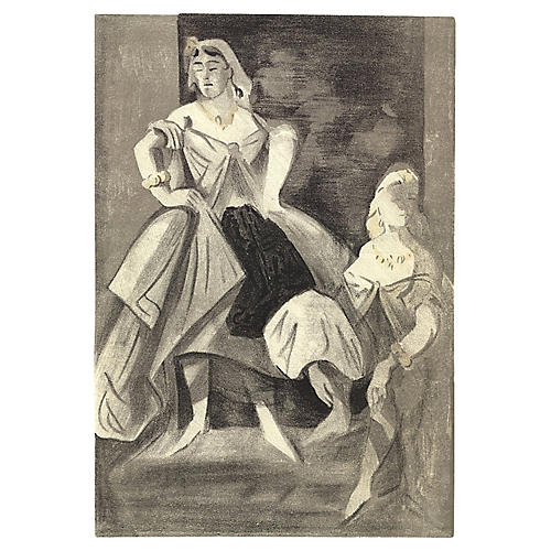 Les Femmes by Leclercq, 1939