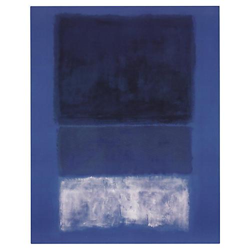 White & Greens in Blue, Mark Rothko