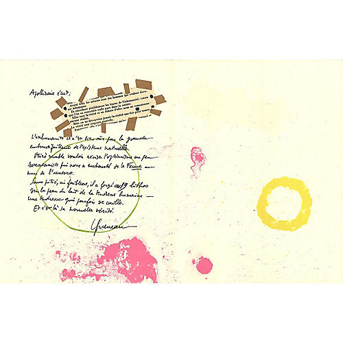 Album 19, Pages 7,8 by Joan Miró