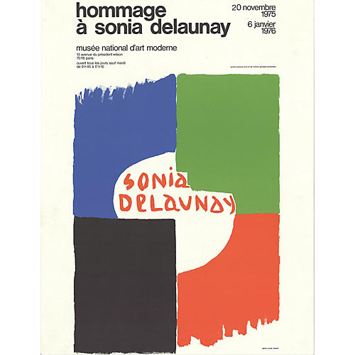 Tribute to Sonia Delaunay - 1975