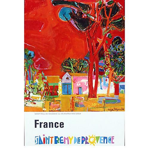 Saint Remy De Provence by Bezombes, 1972