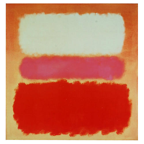 White Cloud over Purple by Mark Rothko