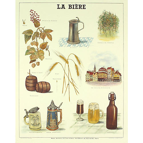 Emile Deyrolle - La Biere