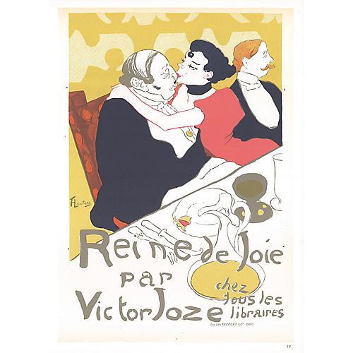 Lautrec, Reine de Joie par Victor Joze