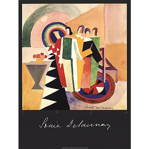 Sonia Delaunay - Untitled - 1986