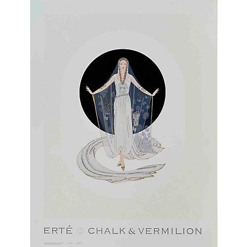 Veil Gown by Erté, 1993