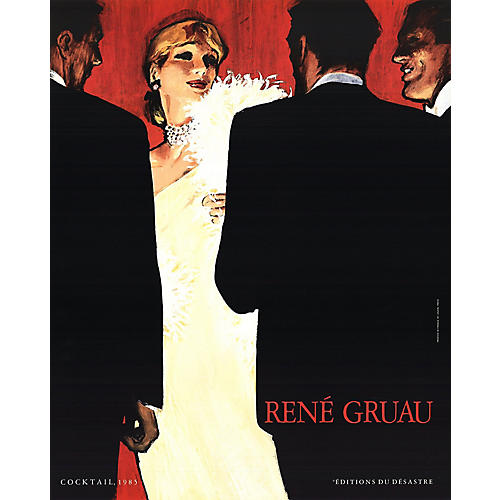 Rene Gruau - Cocktail