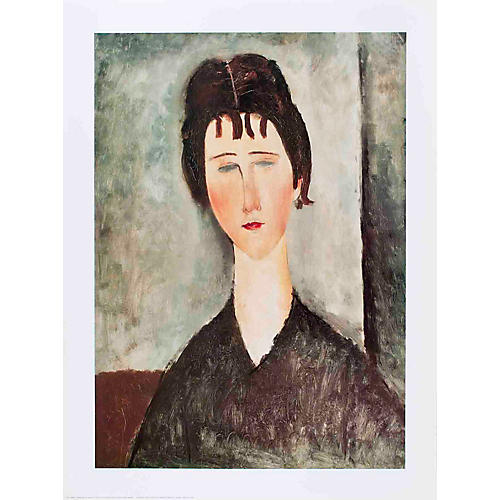 Modigliani - La Fanciulla Bruna - 1996