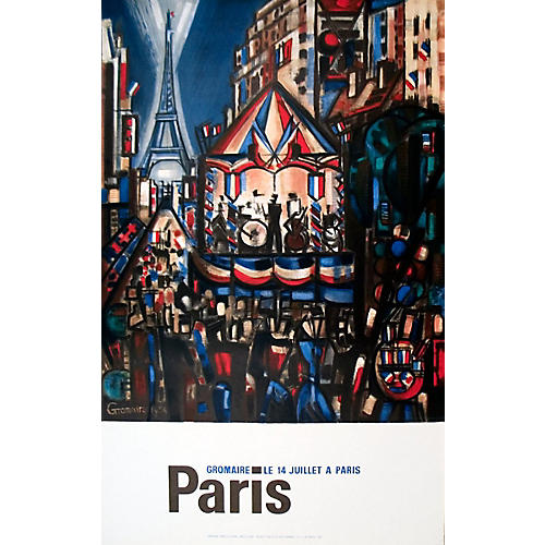 Paris by Marcel Gromaire
