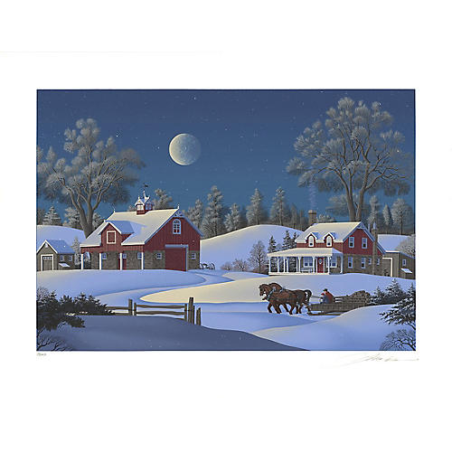 Winterset Farm by Jim Buckels