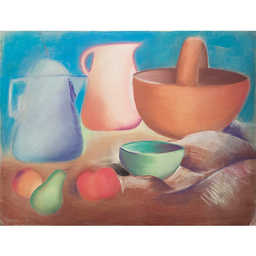Still Life with Pitchers and Fruit