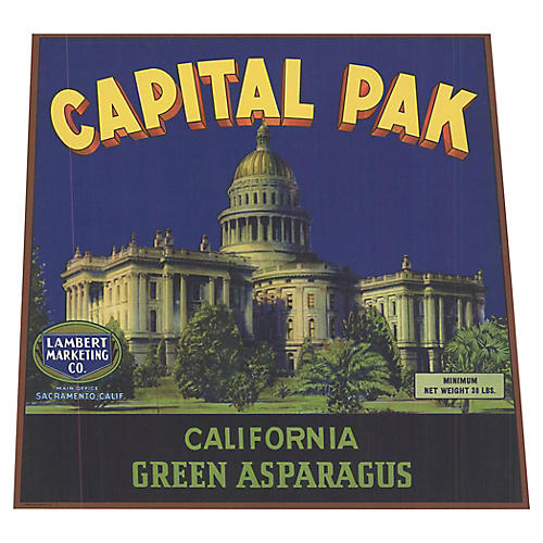 Capital Pak- California Green Asparagus