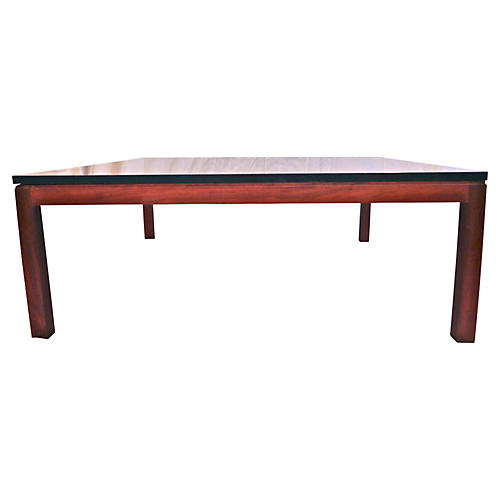 Slate & Teak Danish Modern Coffee Table