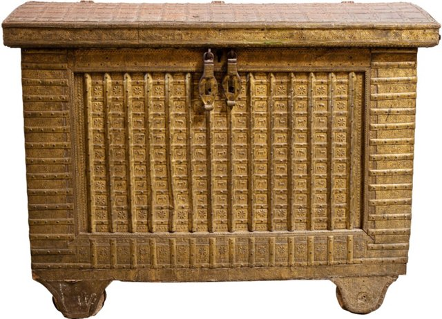 19th-C. Treasure Chest