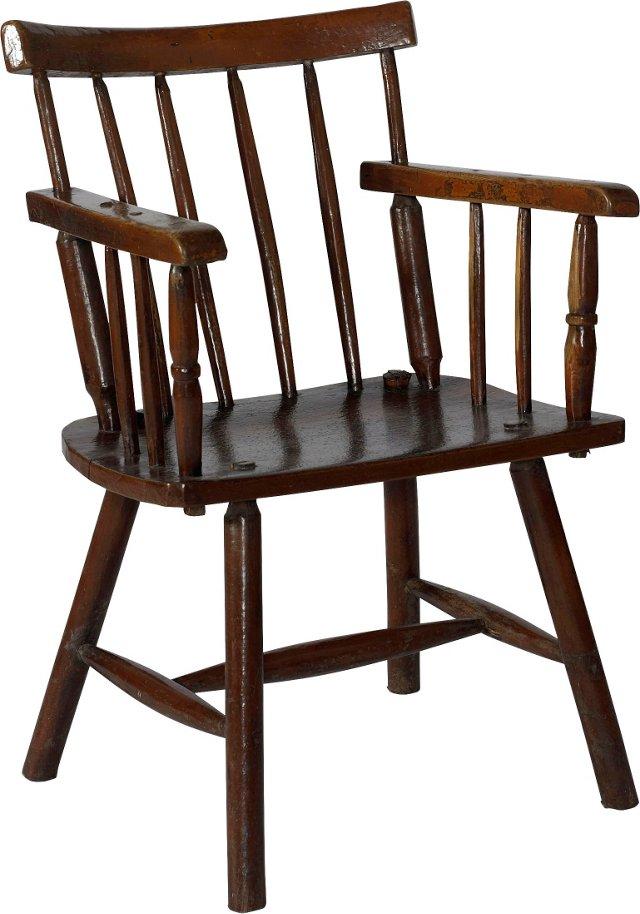 19th-C. Irish Hedgerow Chair