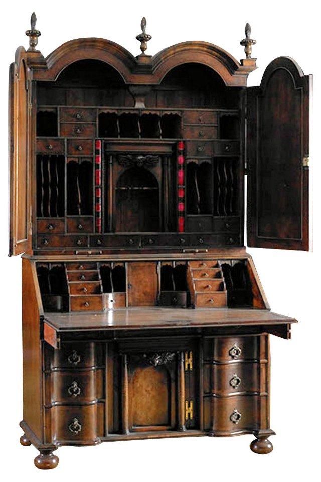 18th-C.  William & Mary-Style  Bureau