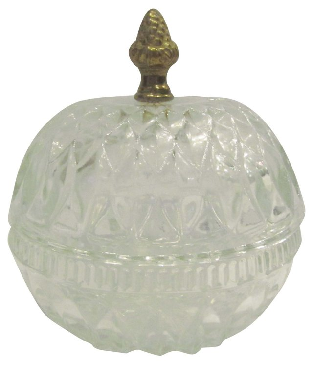 1950s Crystal Candy Dish