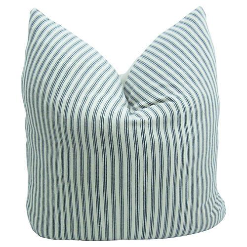 Ticking French & Belgian Linen Pillow