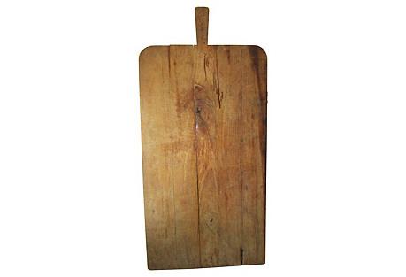 1930s Wood Breadboard