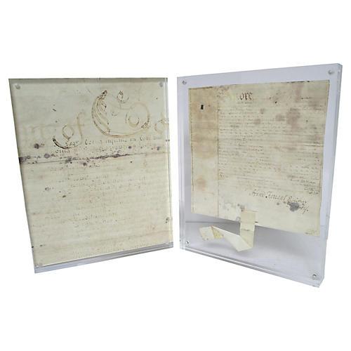 British Document Fragments, S/2