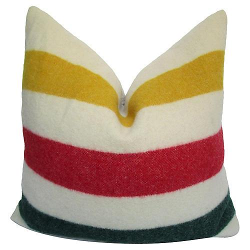 Hudson's Bay Blanket Pillow