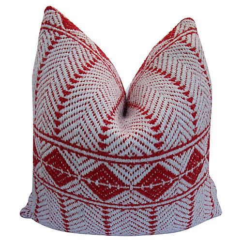 Woven Tribal Trading Blanket