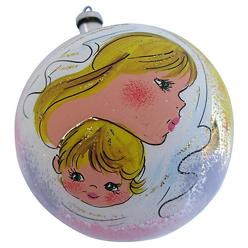 Italian Baby's First Ornament