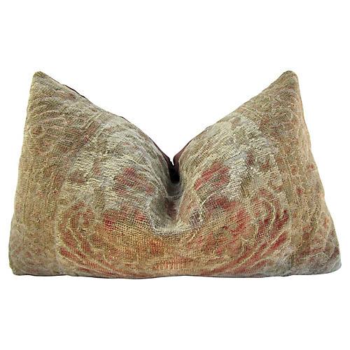 Antique Wool Kilim Pillow