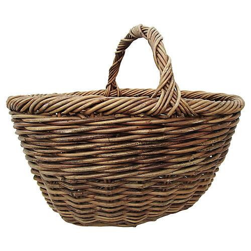 Primitive French Market Basket
