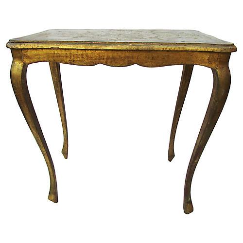 1940s Florentine Table