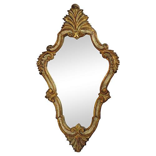 19th-C. Italian Florentine Mirror